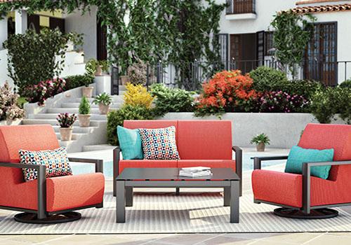 Homecrest outdoor furniture set