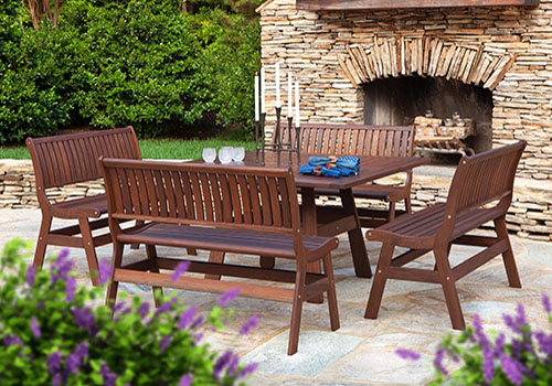 Jensen Beechworth Outdoor Dining Set