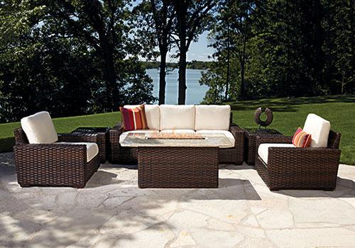 contemporary patio set
