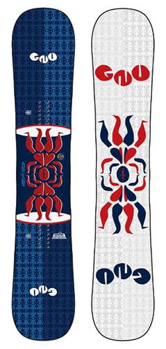 GNU snowboard image