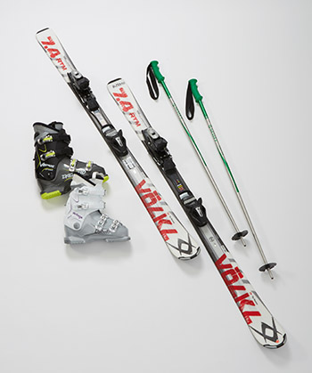 Adult Ski Rental Packages