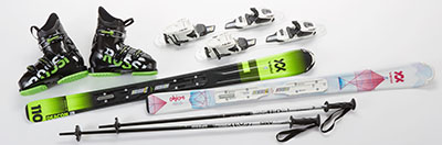 Volkl Deacon Jr Ski Package
