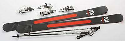 Volkl Mantra Jr Kid's Ski Package